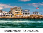Beach Houses Along The Inlet I...