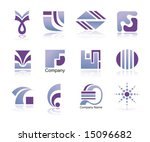 set of design elements. | Shutterstock .eps vector #15096682