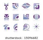 set of design elements. | Shutterstock .eps vector #15096682