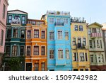 old houses in fener district ... | Shutterstock . vector #1509742982