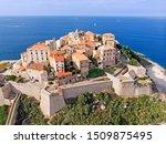 Aerial View Of Calvi  Corsica ...
