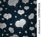 festive love background. vector....   Shutterstock .eps vector #1509884318
