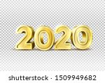2020 new year holiday element... | Shutterstock .eps vector #1509949682