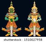 thai giant guardian graphic...   Shutterstock .eps vector #1510027958