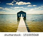 Boatshed On The Swan River  ...