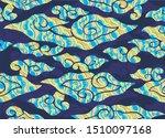 indonesian batik motifs  mega... | Shutterstock . vector #1510097168