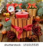 Christmas Candle And...