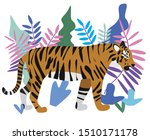 vector illustration of a wild... | Shutterstock .eps vector #1510171178