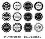 premium quality badges. best... | Shutterstock .eps vector #1510188662