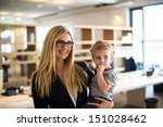 reconciliation of family and... | Shutterstock . vector #151028462