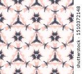 lilac shibori tie dye sunburst... | Shutterstock .eps vector #1510372148