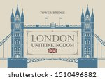 vector banner or postcard with... | Shutterstock .eps vector #1510496882