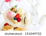 afternoon tea  | Shutterstock . vector #151049732