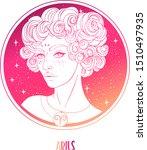 illustration of aries... | Shutterstock .eps vector #1510497935