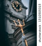 Small photo of Golden trident southwark cathedral london