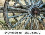 Old Carriage Wheels