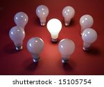 bulb's light | Shutterstock . vector #15105754