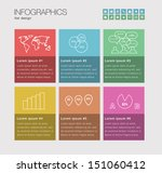 infographics with a set of...