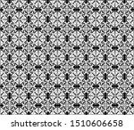 seamless gothic repeating... | Shutterstock .eps vector #1510606658
