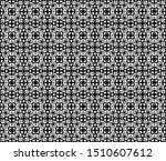 mesh vector floral lace... | Shutterstock .eps vector #1510607612