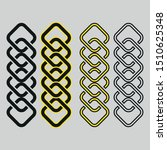 chain icon vector sign symbol... | Shutterstock .eps vector #1510625348