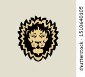 aggresive strong lion head... | Shutterstock .eps vector #1510640105