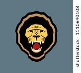 aggresive strong lion head... | Shutterstock .eps vector #1510640108