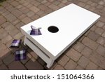 Bean Bag Toss Outdoor Game