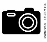 camera icon with glyph style.... | Shutterstock .eps vector #1510675118