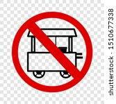 vector sign  do not selling... | Shutterstock .eps vector #1510677338