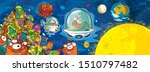 cartoon scene with some funny...   Shutterstock . vector #1510797482