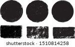 grunge post stamps collection ...   Shutterstock .eps vector #1510814258
