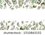 American Money. Money Falling....