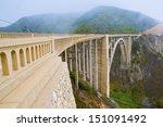 bixby bridge  pacific coast...