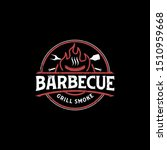 barbecue bbq grill restaurant...   Shutterstock .eps vector #1510959668