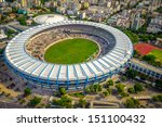 aerial view of a soccer field... | Shutterstock . vector #151100432