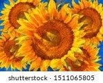 Sunflowers Arrangement. Van...