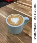 Small photo of Love is in the air, heartfelt coffee care