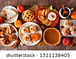 Autumn food concept. selection...