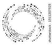 random dotted  dots  halftone... | Shutterstock .eps vector #1511207525