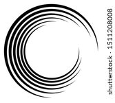 Abstract Concentric Circle....