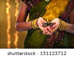 diwali or deepavali photo with... | Shutterstock . vector #151123712