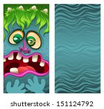 monsters on the phone  vector... | Shutterstock .eps vector #151124792