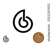 snail house logo. snail shell... | Shutterstock .eps vector #1511251922