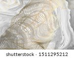 thin lines   waves on a cut of... | Shutterstock . vector #1511295212