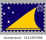 national flag of  oceanian...   Shutterstock .eps vector #1511307458
