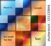 abstract geometrical design    Shutterstock .eps vector #151133846