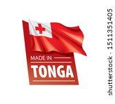 tonga flag  vector illustration ...   Shutterstock .eps vector #1511351405