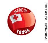 tonga flag  vector illustration ...   Shutterstock .eps vector #1511351408
