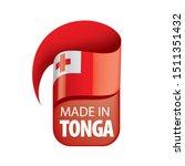 tonga flag  vector illustration ...   Shutterstock .eps vector #1511351432
